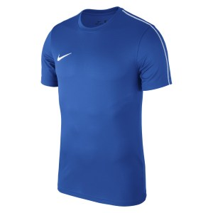 Nike Park 18 Short Sleeve Shirt Royal Blue-White-White