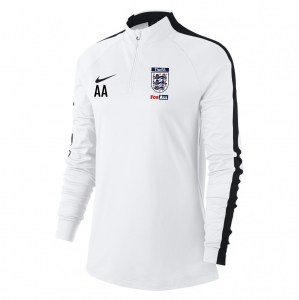Nike Womens Academy 18 Midlayer Top (W) White-Black-Black