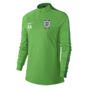 Nike Womens Academy 18 Midlayer Top (W) Lt Green Spark-Pine Green-White