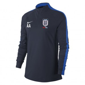 Nike Womens Academy 18 Midlayer Top (W) Obsidian-Royal Blue-White