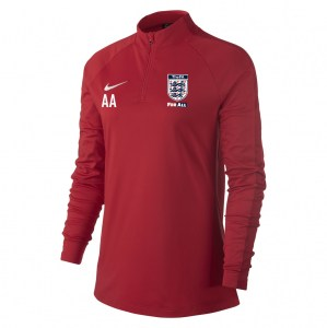 Nike Womens Academy 18 Midlayer Top (W) University Red-Gym Red-White