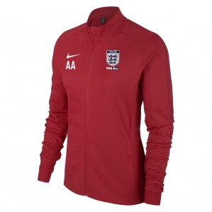 Nike Womens Academy 18 Tracksuit Jacket (W) University Red-Gym Red-White