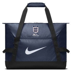 Nike Academy Team Duffel Bag (medium) Midnight Navy-Black-White