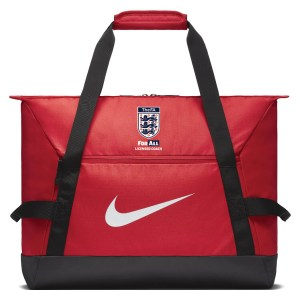 Nike Academy Team Duffel Bag (medium) University Red-Black-White