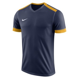 Nike Park Derby II Short Sleeve Shirt Midnight Navy-University Gold-White