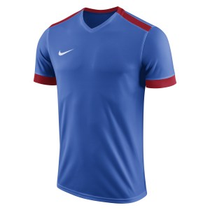 Nike Park Derby II Short Sleeve Shirt Royal Blue-University Red-White