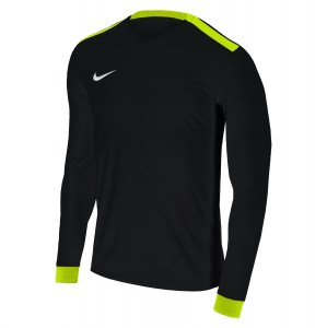 Nike Park Derby II Long Sleeve Shirt Black-Volt-Volt-White