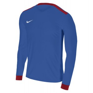 Nike Park Derby II Long Sleeve Shirt Royal Blue-University Red-White