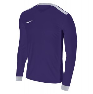 Nike Park Derby II Long Sleeve Shirt Court Purple-White-White-White