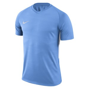 Nike Tiempo Premier Short Sleeve Shirt University Blue-University Blue-White