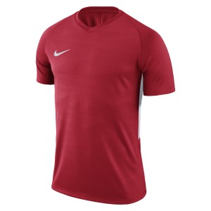 Nike Tiempo Premier Short Sleeve Shirt University Red-University Red-White