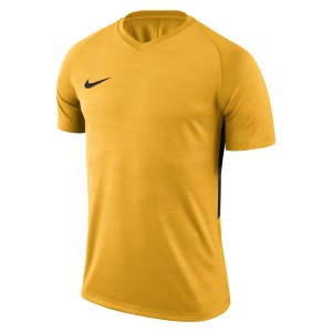 Nike Tiempo Premier Short Sleeve Shirt University Gold-University Gold-Black
