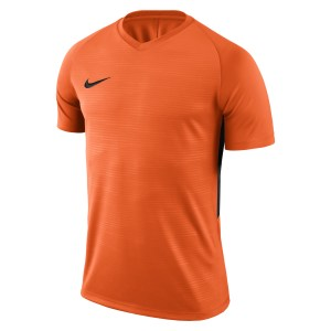 Nike Tiempo Premier Short Sleeve Shirt Safety Orange-Safety Orange-Black-Black