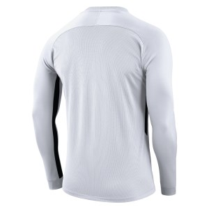 Nike Tiempo Premier Long Football Shirt White-White-Black-Black