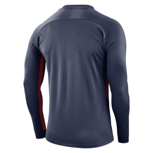 Nike Tiempo Premier Long Football Shirt Midnight Navy-Midnight Navy-Red-White