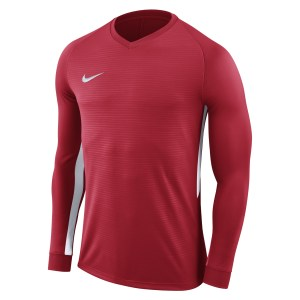 Nike Tiempo Premier Long Football Shirt University Red-University Red-White