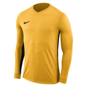 Nike Tiempo Premier Long Football Shirt University Gold-University Gold-Black
