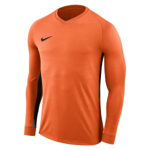 Nike Tiempo Premier Long Football Shirt Safety Orange-Safety Orange-Black-Black