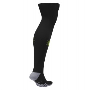 Nike Team Matchfit Over-the-calf Socks Black-Volt-Black