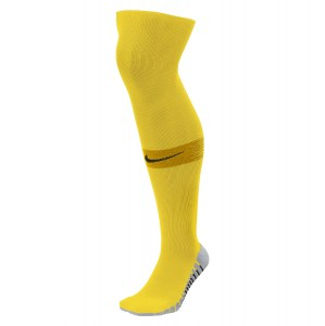 Nike Team Matchfit Over-the-calf Socks Tour Yellow-University Gold-Black