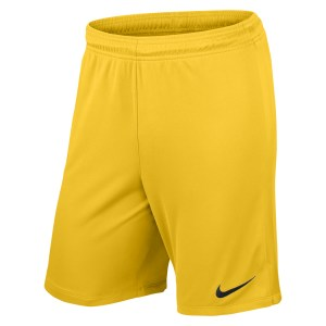 Nike League Knit Short Tour Yellow-Tour Yellow-Black