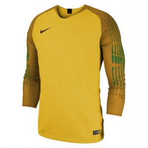 Nike Gardien Long Sleeve Goalkeeper Shirt Tour Yellow-University Gold-Black