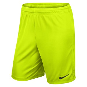 Nike Park II Knit Short Volt-Black