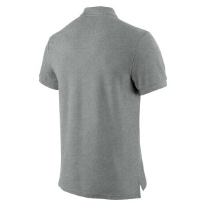Nike Core Cotton Polo Shirt Grey Heather-White