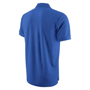 Nike Core Cotton Polo Shirt Royal Blue-White