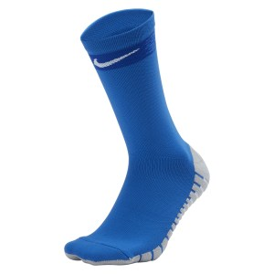 Nike Matchfit Crew Football Socks Royal Blue-Bright Blue-White