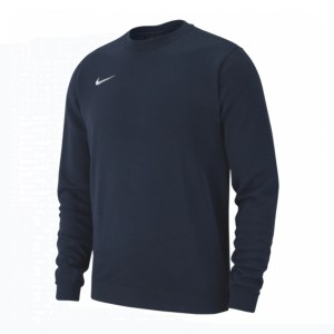 Nike Team Club 19 Crew Sweatshirt Obsidian-White
