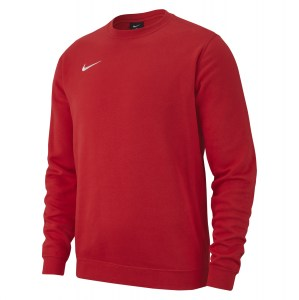 Nike Team Club 19 Crew Sweatshirt University Red-White