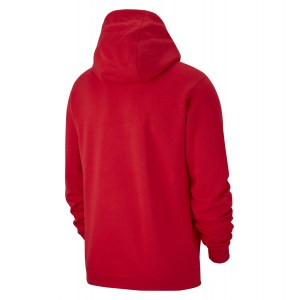 Nike Team Club 19 Hoodie University Red-University Red-White