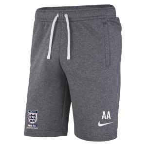 Nike Team Club 19 Short Charcoal Heathr-Anthracite-White-White