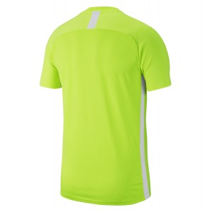 Nike Dri-fit Academy 19 Short Sleeve Top Volt-White-White