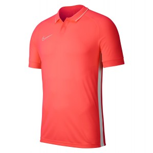 Nike Dri-fit Academy 19 Polo Bright Crimson-Bright Crimson-White