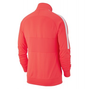 Nike Dri-fit Academy 19 Knit Track Jacket Bright Crimson-White-White