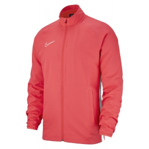 Nike Dri-fit Academy 19 Woven Track Jacket Bright Crimson-White-White