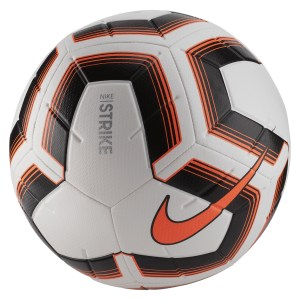 Nike Strike Team Match Ball White-Black-Total Orange-Total Orange
