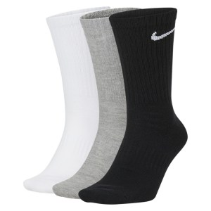 Nike Everyday Lightweight Crew Training Socks (3 Pair) Multi-Color