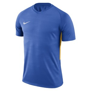 Nike Tiempo Premier Short Sleeve Shirt Royal Blue-Royal Blue-White