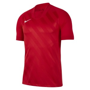 Nike Challenge III Dri-FIT  Short Sleeve Jersey University Red-University Red-White