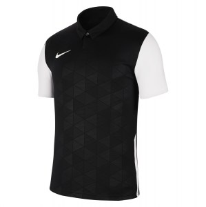 Nike Dri-FIT Trophy IV Short Sleeve Jersey Black-White-White