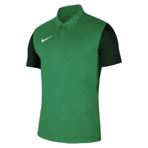 Nike Dri-FIT Trophy IV Short Sleeve Jersey Pine Green-Gorge Green-White