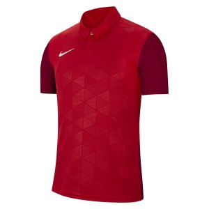Nike Dri-FIT Trophy IV Short Sleeve Jersey University Red-Team Red-White