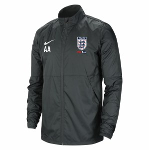 Nike Park 20 Repel Rain Jacket Anthracite-Anthracite-White