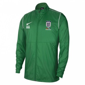 Nike Repel Park 20  Rain Jacket Pine Green-White-White