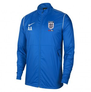 Nike Park 20 Repel Rain Jacket Royal Blue-White-White
