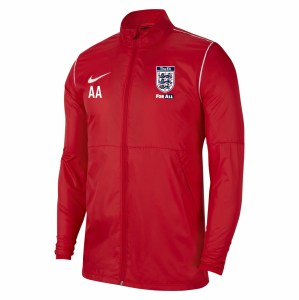 Nike Park 20 Repel Rain Jacket University Red-White-White