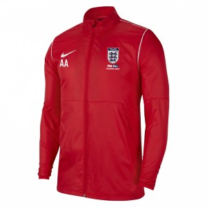 Nike Repel Park 20  Rain Jacket University Red-White-White